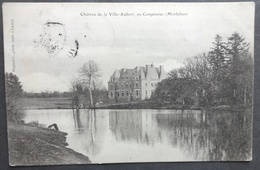 CPA 56 CAMPENEAC - Château De La Ville-Aubert - Edi. Mignot - Réf W 70 - Autres Communes