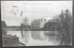 CPA 56 CAMPENEAC - Château De La Ville-Aubert - Edi. Mignot - Réf W 70 - Frankrijk