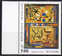 Frankreich, 1990, Mi.Nr. 2811, MNH **,  Art : Peinture De Roger Bissière - Unused Stamps