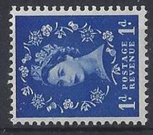 "GB....QUEEN ELIZABETH II.(1952-NOW)....."" 1958 ""....WILDINGS........1d.....SG571a...........WATERMARK SIDEWAYS......MNH. - 1952-.... (Elizabeth II)"