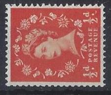 "GB....QUEEN ELIZABETH II.(1952-NOW)....."" 1958 ""....WILDINGS......HALFd.....SG570a.........WATERMARK SIDEWAYS......MNH. - 1952-.... (Elizabeth II)"