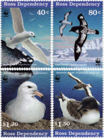 Ref. 75109 * NEW *  - NEW ZEALAND. Ross Dependency . 1997. MARINE BIRDS. AVES MARINAS - Ross Dependency (New Zealand)