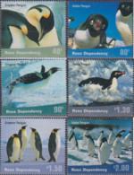 Ref. 80530 * NEW *  - NEW ZEALAND. Ross Dependency . 2001. PENGUINS. PINGUINOS - Ross Dependency (New Zealand)