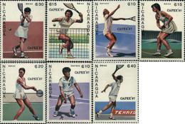 Ref. 68836 * NEW *  - NICARAGUA . 1987. CAPEX 87. INTERNATIONAL PHILATELIC EXHIBITION. TENNIS. CAPEX 87. EXPOSICION FIL - Nicaragua