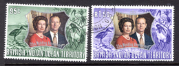 1972 - BRITISH INDIAN OCEAN TERRITORY - Mi  48/49 - USED -  (CW1822.36) - Francobolli