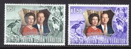 1972 - BRITISH INDIAN OCEAN TERRITORY - Mi  48/49 - NH -  (CW1822.37) - Francobolli