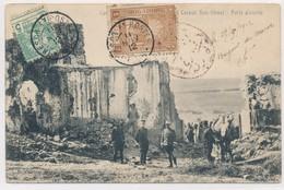 CPA Casbah Ben-Ahmet Porte D'entrée Maroc Militaire Timbres Tampons Soldats 1912 - Marokko