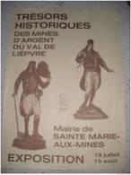Affiche, Trésors Historiques  SAINTE MARIE AUX MINES, - Affiches