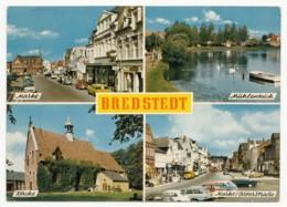 Bredstedt In Nordfriesland - 4 Ansichten - 1969 - Bredstedt