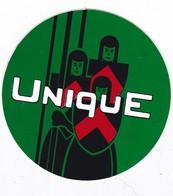 Autocollant Publicitaire - Arme UNIQUE - Vert - Stickers