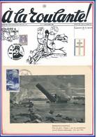 FRANCE - CARTE BENOUVILLE RANVILLE PRISE DU PONT PEGASE PAR LES PARACHUTISTES DE LA 6EME DIVISION BRITANNIQUE JUIN 1944 - Guerre Mondiale (Seconde)