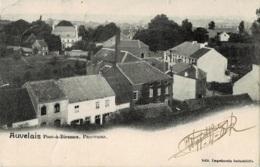 Auvelais Pont-à-Biesmes Panorama Circulée En 1904 - Sambreville