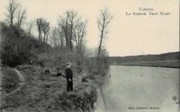 Tamines La Sambre Trou Mahy Circulée En 1907 - Sambreville
