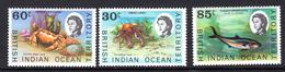 1968 - BRITISH INDIAN OCEAN TERRITORY - Mi  36/38 - NH -  (CW1822.37) - Francobolli
