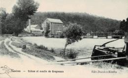 Tamines Ecluse Et Moulin De Grogneaux Circulée En 1907 - Sambreville