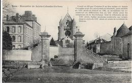 89 . Yonne :   Sainte  Colombe  Les Sens : Le Monastere . - Andere Gemeenten