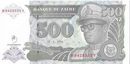 ZAIRE=1994     500  NOUVEAU ZAIRE     P-64a      UNC - Zaïre
