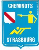 Autocollant Tir Sportif - CHEMINOTS STRASBOURG - Autres