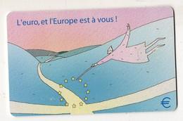 LUXEMBOURG TELECARTE TS26 - 11.01 L'EURO Et L'EUROPE - Postzegels & Munten