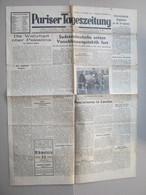 Pariser Tageszeitung, 1938. - Newspaper : Judaica, Jewish, Palastina Chronik, Keren Hajessod Konferenz ... - Judaïsme