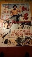 Affiche De Cinéma - Le Justicier De Hong Kong - 110 X 160 Cm - Sortie En France 1973 - Afiches