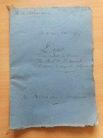 "Eugene ""Louis"" Philippe De Salperwick - Marcoussis - Historical Documents"