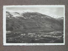 AOSTA -PANORAMA    - 1937      - BELLA - - Non Classés