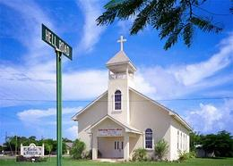 Cayman Islands George Town Lords Church New Postcard - Caïman (Iles)