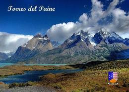 Chile Landscape Torres Del Paine New Postcard - Chile