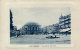 MONTPELLIER (34000) - CPA - Montpellier, Place De La Comédie - Imp Phot Rambier - Montpellier