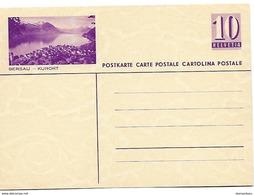 """45 - 88 - Entier Postal Neuf Avec Illustration """"Gersau"""" - Ganzsachen"""