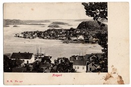 Kragerö, Norge, Alte Ansichtskarte - Norvège