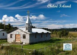 Chile Chiloe Island Church UNESCO New Postcard - Chili