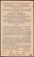 Sint-Niklaas, Belsele, 1923, Stephanie-Ludovica Heyndrickx, Rooman - Images Religieuses