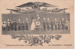 57 - SARREGUEMINES - FETE DE LA FONDATION DE L'ASSOCIATION DES GARDES - Sarreguemines