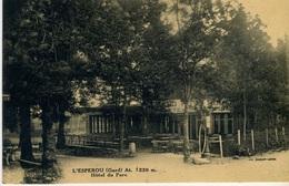 L'ESPEROU (30570) - CPA - L'Esperou (Gard), Alt 1230 M - Hôtel Du Parc - Otros Municipios