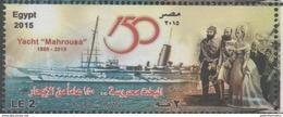 EGYPT, 2015, MNH, SHIPS,YACHT MAHROUSA, 1v - Ships