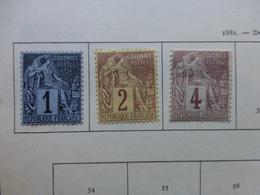 Timbres Des Colonies Neufs * Charnières - France (ex-colonies & Protectorats)
