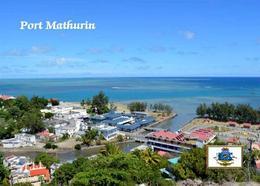 Mauritius Rodrugues Island Port Mathurin New Postcard Maurice - Mauritius