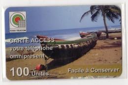 TOGO TELECARTE REF MV CARDS TOG-RM-03 100U BOAT - Togo