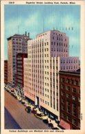 Minnesota Duluth Superior Street Looking East 1947 Curteich - Duluth