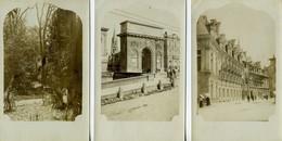 MONTPELLIER (34000) - Lot De 6 CPA - Photo - Montpellier, Arc De Triomphe-Jardin Des Plantes-Place De La Comédie, Etc - Montpellier