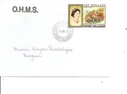 Cook ( Lettre De 1998 De Rarotonga Vers La Belgique à Voir) - Cook Islands