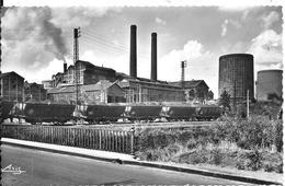 CPA-1960-71-MONTCEAU Les MINES-La STATION-Usine Metallurgique-Edit Aris--TBE - Montceau Les Mines
