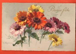 MM-15  Catharina Klein, Fleurs. Bonne Fête. Circulé - Klein, Catharina