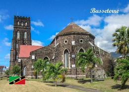 Saint Kitts Basseterre St George's Anglican Church New Postcard - Saint-Christophe-et-Niévès
