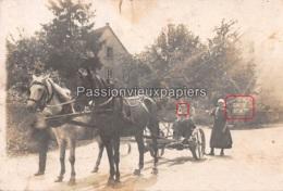 CARTE PHOTO  HORNBACH ?   (Panneau SCHWEYEN BITCHE) - Allemagne