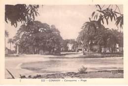 GUINEE FRANCAISE - CONAKRY : Camayenne - Plage - CPA - Afrique Noire - Black Africa - Guinée Française