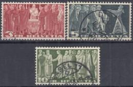 SCHWEIZ  328-330, Gestempelt, Symbole Der Demokratie 1938 - Oblitérés