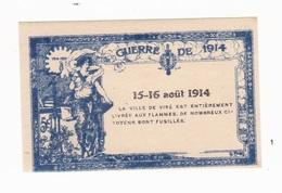 Vignette Militaire Delandre - Patriotique - Guerre De 1914 - 15-16 Août 1916 - Vignettes Militaires